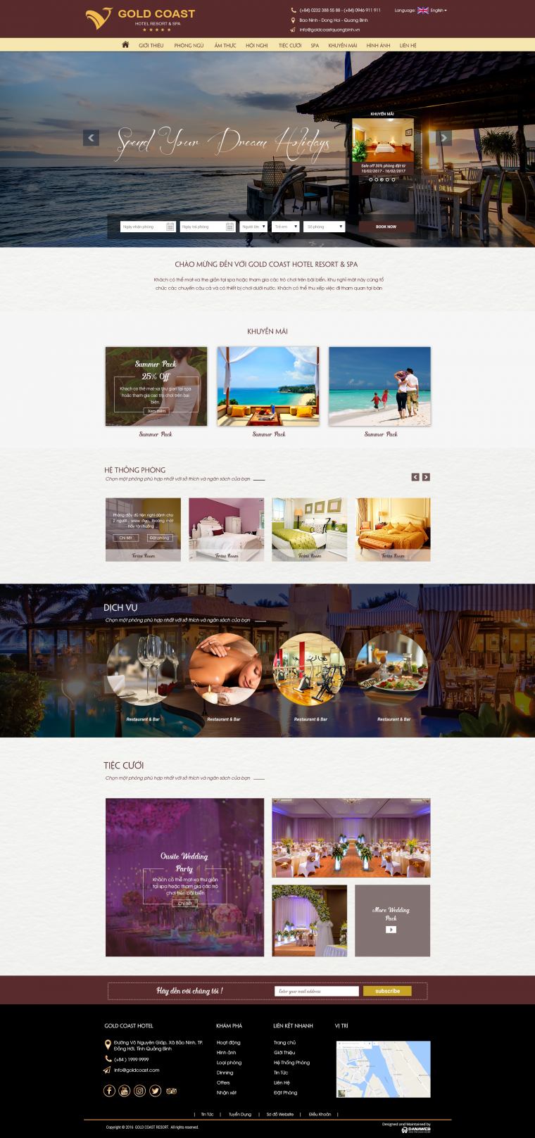 Resort GoldCoast Quang Binh