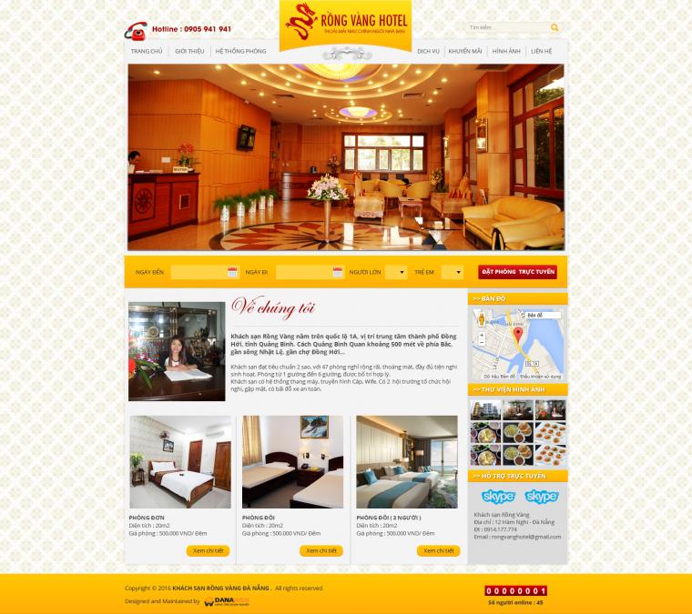 Khách sạn Rồng Vàng Đà Nẵng