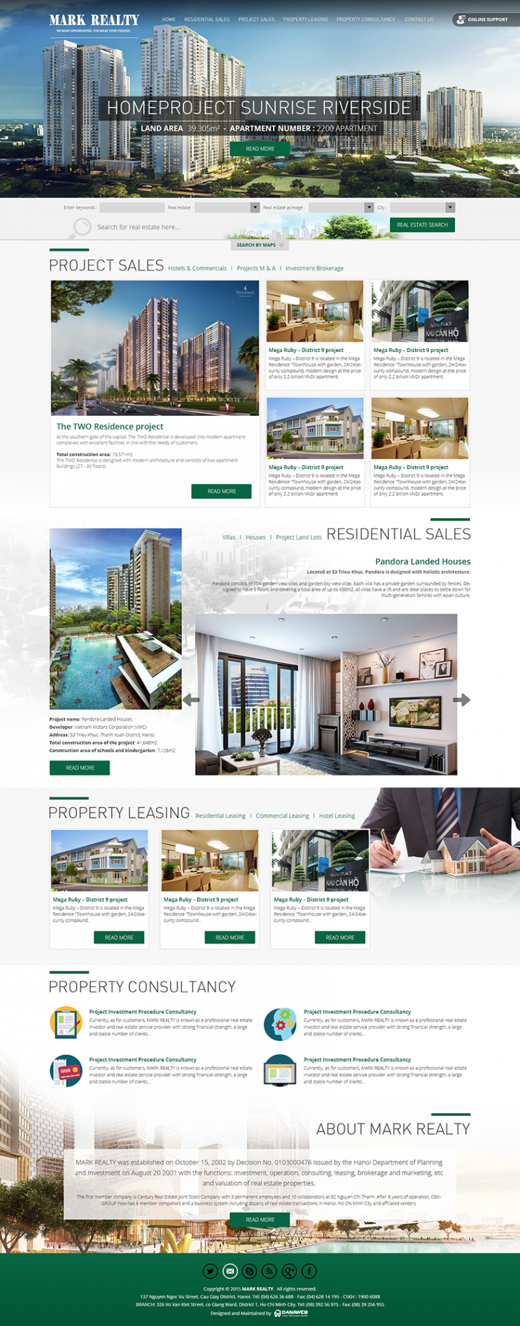 Mark Realty Danang