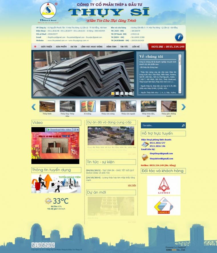 Công Ty CP Thép & Đầu Tư Thụy Sĩ