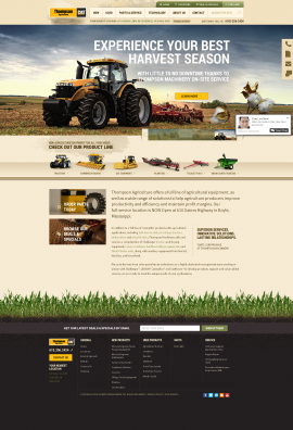 Agriculture Equipment & Machinery - New & Used I Thompson Agriculture TN& MS