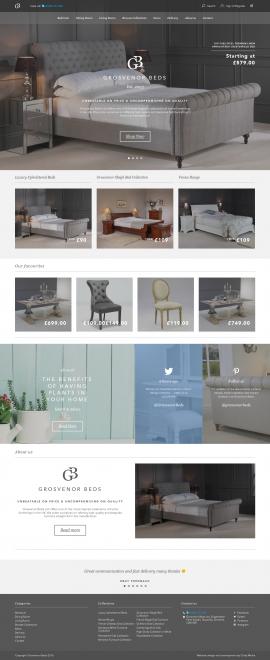Luxury Mahogany, Oak & Upholstered Furniture I Grosvenor Beds