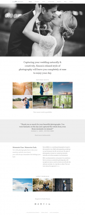 Somerset Wedding Photographer Simon Biffen