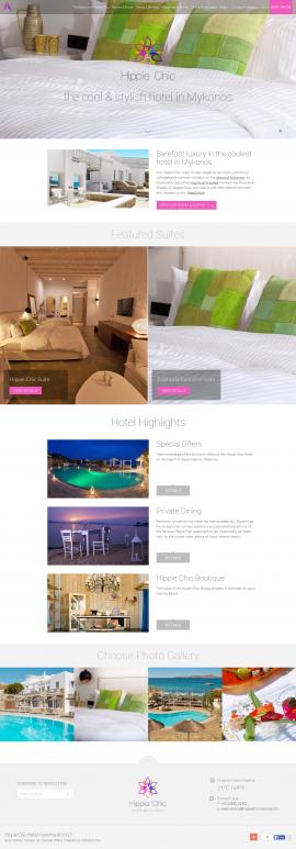 Hippie Chic Hotel Mykonos I Luxury Beach Hotel Mykonos