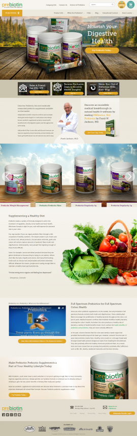 Prebiotic Supplements Backed By Science I Prebiotin