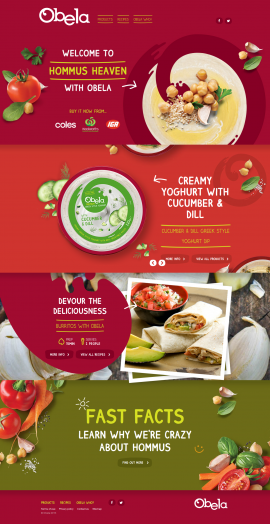 Obela I Creamy hommus, feel-good flavours and tasty ingredients