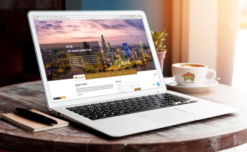 Danaweb thiết kế website bất động sản cho Công ty Cổ phần Đầu tư Địa Ốc TATI