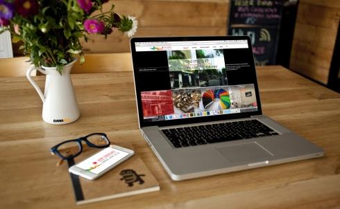 Danaweb thiết kế website cho Công ty Quảng cáo Mặt Trời Đỏ