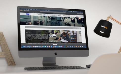 Danaweb thiết kế website cho công ty điện Trường Giang