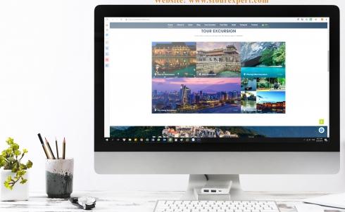 Danaweb thiết kế website du lịch cho đơn vị STour
