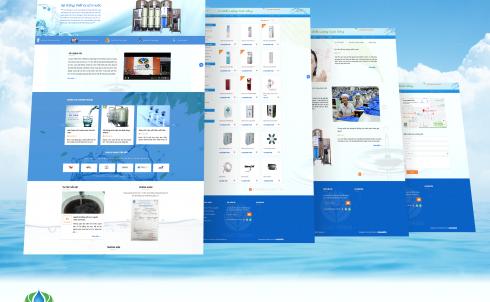 Danaweb thiết kế website cho Công ty Đức Trân
