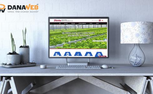 DANAWEB bảo trì & nâng cấp Website cho Công ty Shinko Technos