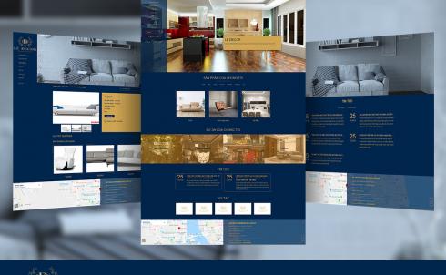 DanaWeb thiết kế website nội thất cho Công ty chuyên thiết kế và thi công nội thất Lê Decor