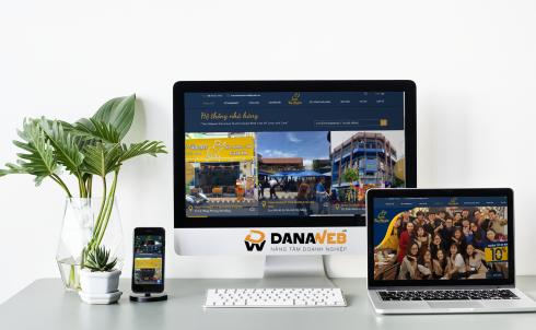 DANAWEB thiết kế Website cho Nhà hàng Thái Market