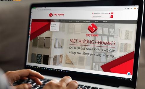 DANAWEB bảo trì & nâng cấp Website cho Công ty Cổ phần Xây dựng Gốm sứ Việt Hương