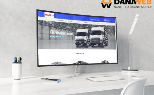 DANAWEB thiết kế Website cho Công ty Cổ phần Ô tô Đại Thịnh