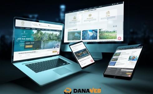 DANAWEB thiết kế Website cho Công ty Bất Động Sản DAHASA