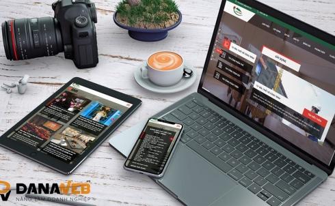 DANAWEB thiết kế Website cho Công ty Ngự Bình Construction