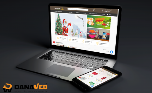 DANAWEB thiết kế Website cho Siêu thị Walmart Sunrise