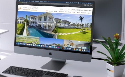 Danaweb thiết kế website bất động sản nghỉ dưỡng cho Công ty du lịch và giải trí Đà Nẵng