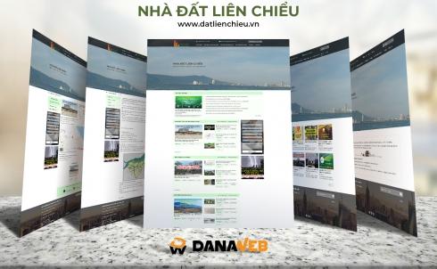 DANAWEB bàn giao dự án thiết kế và xây dựng website bất động sản NHÀ ĐẤT LIÊN CHIỂU
