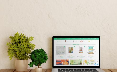 DANAWEB thiết kế Website cho Công ty Nguyên phụ liệu & Vật dụng pha chế Bách Phúc Đà Nẵng