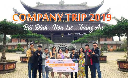 Công ty TNHH MTV Công Nghệ Phần Mềm DANAWEB tổ chức tham quan du lịch cho cán bộ, nhân viên năm 2019