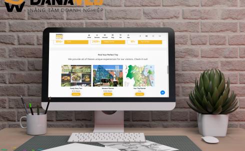 DANAWEB thiết kế Website cho Danang Free Walking Tour