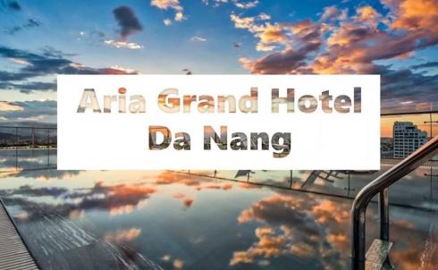 Danaweb  thiết kế website khách sạn cho ARIA GRAND HOTEL DA NANG