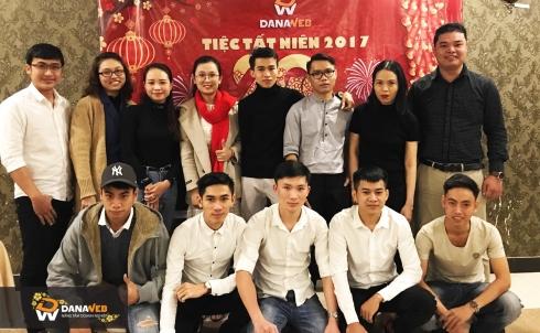 Công ty DanaWeb tổ chức Tất niên 2017