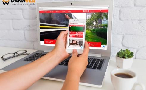 DANAWEB thiết kế Website cho Công ty Cổ phần Vận tải và Dịch vụ Tân Kim Chi