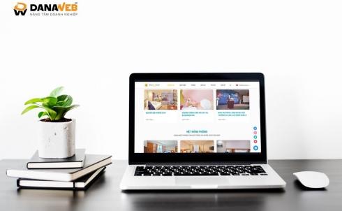 DANAWEB thiết kế Website cho Khách sạn BlueSun